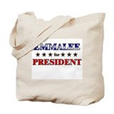 EMMALEE for president Tote Bag