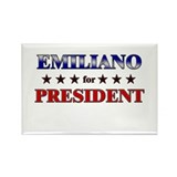 EMILIANO for president Rectangle Magnet