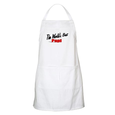 """The World's Best Papi"" BBQ Apron"