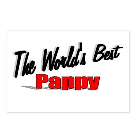"""The World's Best Pappy"" Postcards (Package of 8)"