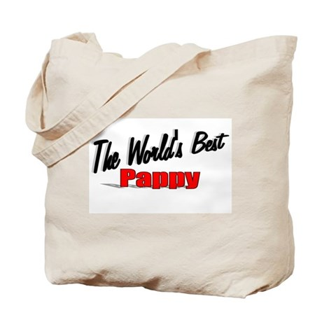 """The World's Best Pappy"" Tote Bag"