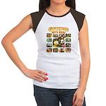 Garfield Gets Real Women's Cap Sleeve T-Shirt