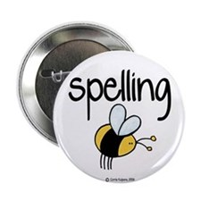 "Spelling Bee II 2.25"" Button (10 pack)"