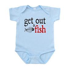 Get Out & Fish Infant Bodysuit