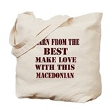Learn from best Macedonia Tote Bag