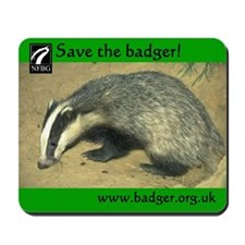 Badgers Forever Badger Mousepad