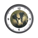 Badgers Forever Badger Wall Clock
