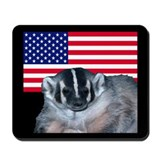 American Badger Mousepad
