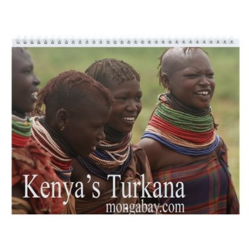 Turkana of Kenya Wall Calendar