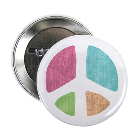"Stencil Peace 2.25"" Button (10 pack)"