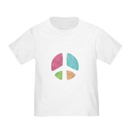 Stencil Peace Toddler T-Shirt