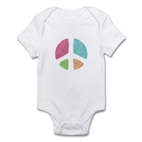 Stencil Peace Infant Bodysuit