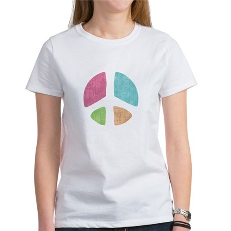 Stencil Peace Women's T-Shirt
