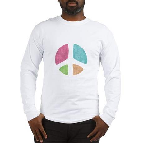 Stencil Peace Long Sleeve T-Shirt