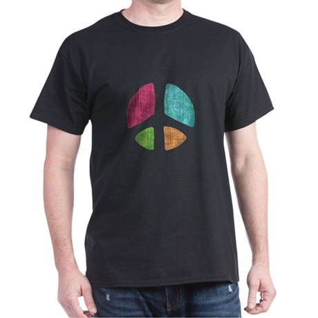 Stencil Peace Dark T-Shirt