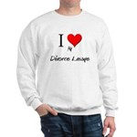 I Love My Divorce Lawye Sweatshirt