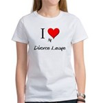 I Love My Divorce Lawye Women's T-Shirt