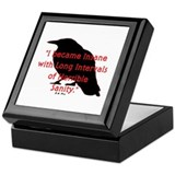 POE QUOTE Keepsake Box
