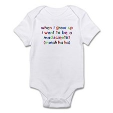 Grow Up - Mad Scientist Infant Bodysuit