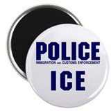 "POLICE ICE 2.25"" Magnet (10 pack)"