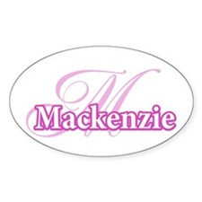Mackenzie Oval Decal