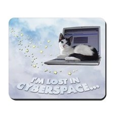 "Mousepad ""Lost in Cyberspace"""