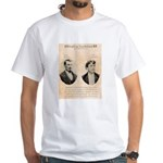 Death in Tombstone White T-Shirt