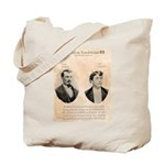 Death in Tombstone Tote Bag