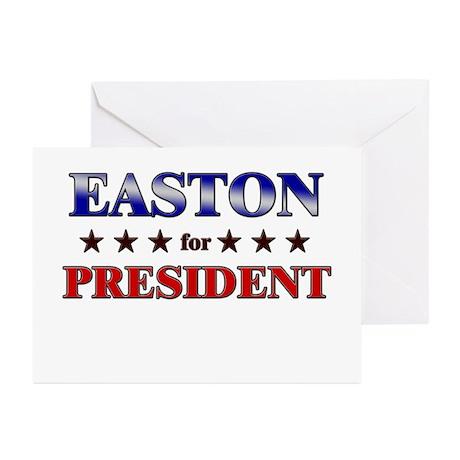 EASTON for president Greeting Cards (Pk of 20)