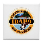 Idaho State Parks & Recreatio Tile Coaster