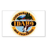 Idaho State Parks & Recreatio Sticker (Rectangular