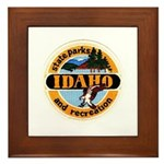 Idaho State Parks & Recreatio Framed Tile