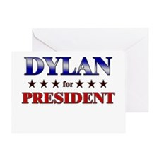 DYLAN for president Greeting Card