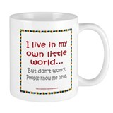 Own Little World Small Mugs