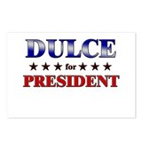 DULCE for president Postcards (Package of 8)