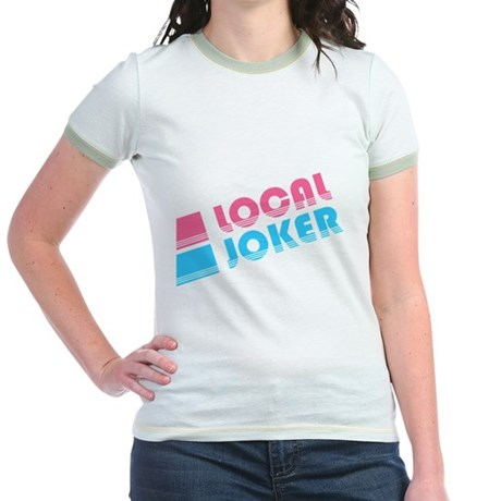 Local Joker Jr Ringer T-Shirt