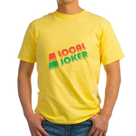 Local Joker Yellow T-Shirt