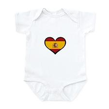Spanish Love Infant Bodysuit