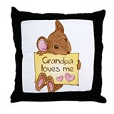 Mouse Love GP Throw Pillow