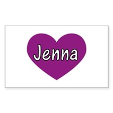 Jenna Rectangle Decal