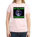 Save The World Carpool! Women's Light T-Shirt