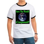 Save The World Carpool! Ringer T