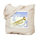 Blue Jazz Tote Bag