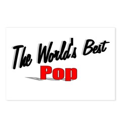 """The World's Best Pop"" Postcards (Package of 8)"
