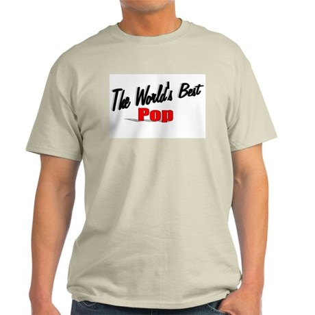 """The World's Best Pop"" Light T-Shirt"