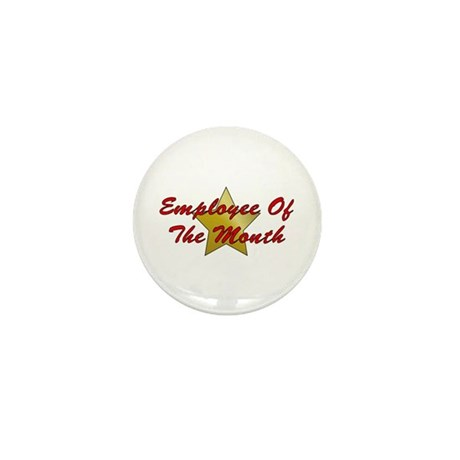 Employee Of The Month Mini Button (100 pack)