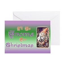 Gnome for Christmas Greeting Card