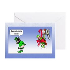 Leprechaun's Rule Greeting Card