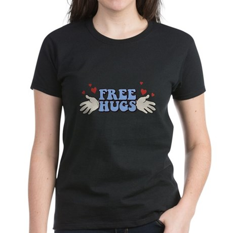 Free Hugs Womens T-Shirt