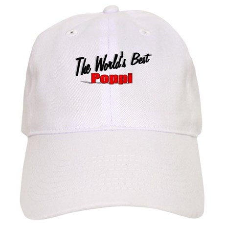 """The World's Best Poppi"" Cap"